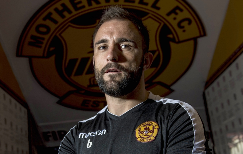 Peter Hartley is Motherwell's new club captain