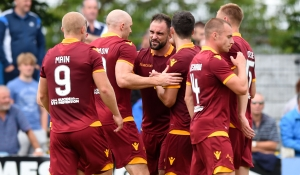 Motherwell draw but lose shootout at Stranraer
