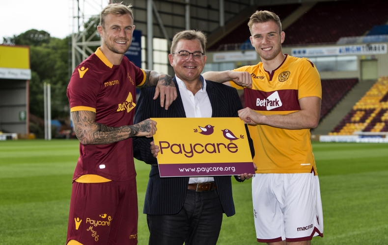 Paycare are our new official shorts sponsor