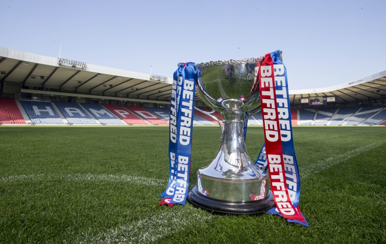 Betfred Cup fixtures announced