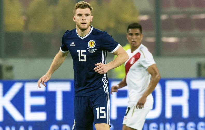 Chris Cadden makes Scotland debut