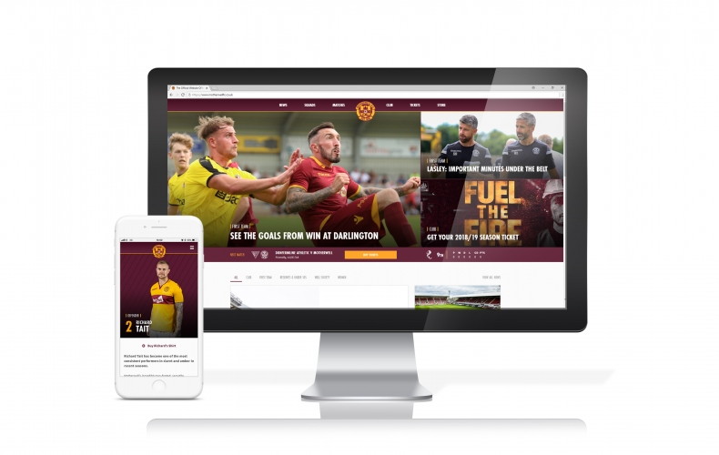 Introducing the new Motherwell FC website