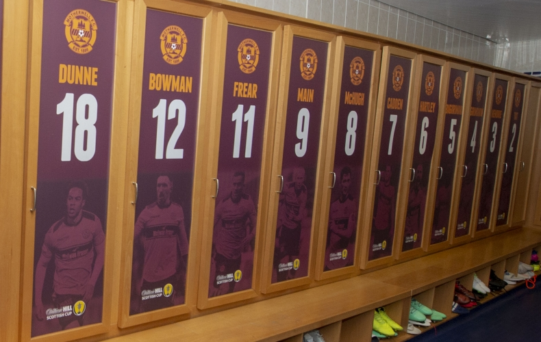 Bid for player dressing room boards