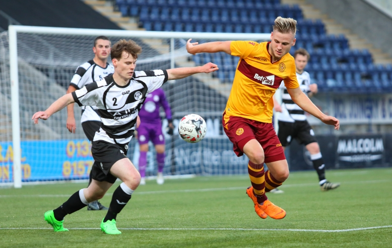 East Stirlingshire 0-3 Motherwell Colts