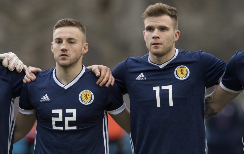 Midfielders get Scotland Under 21 call