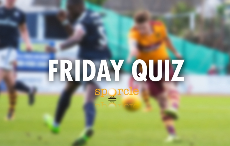 Our Friday pre-Dundee quiz