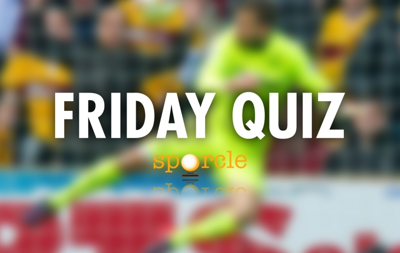 Try your luck at our Friday quiz
