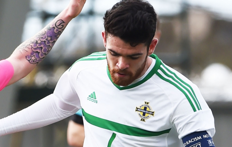 Liam Donnelly nets in record NI appearance