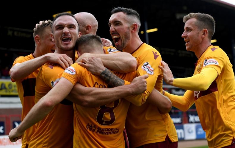 Dundee 1 – 3 Motherwell