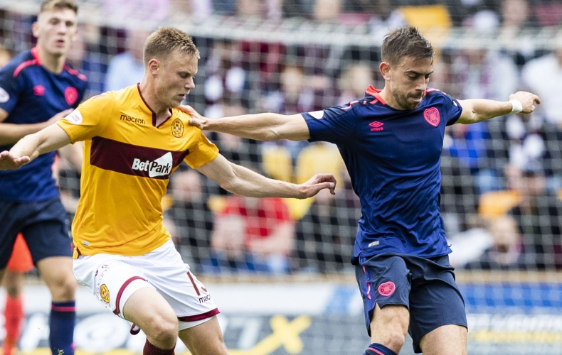 Motherwell slip to Hearts defeat