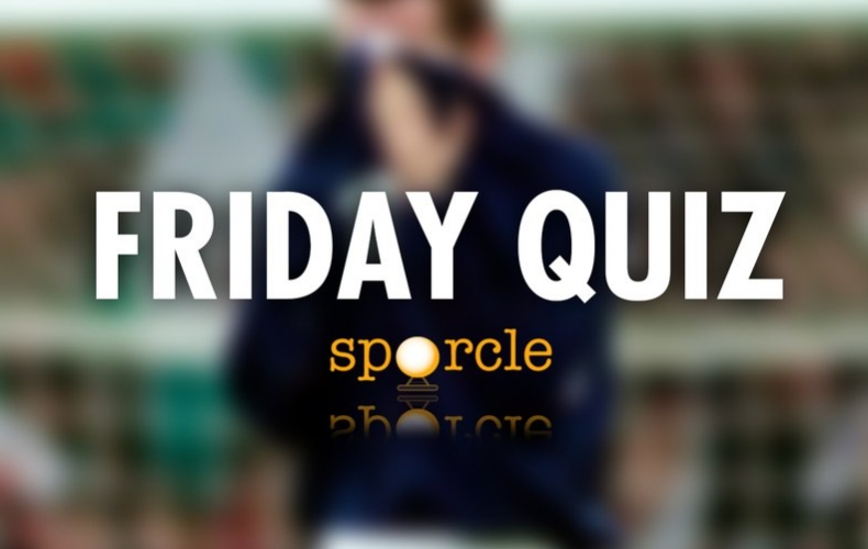 Try our Friday internationals quiz