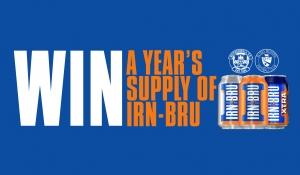 Win a year's supply of IRN-BRU