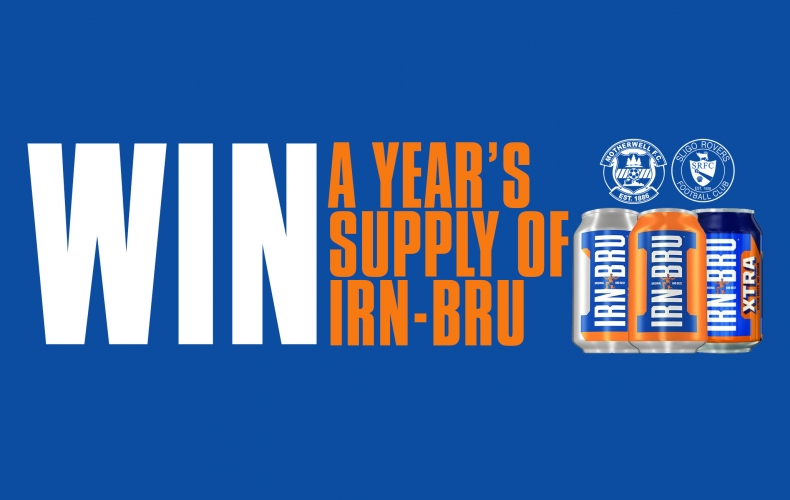 Win a year's supply of IRN-BRU