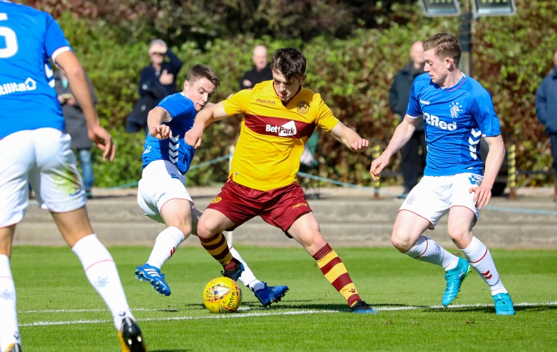 Reserves suffer defeat at Rangers