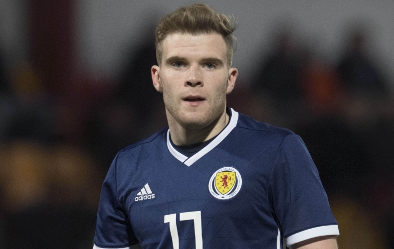 Motherwell players in international action