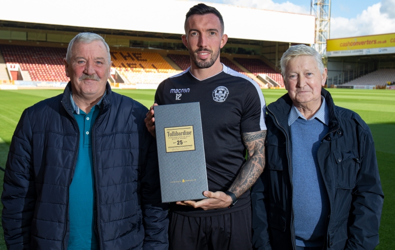 Ryan Bowman is your Tullibardine player of the month