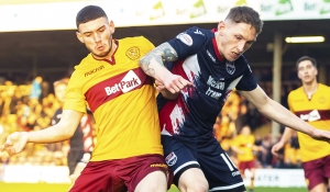 Motherwell Colts bow out of IRN-BRU Cup