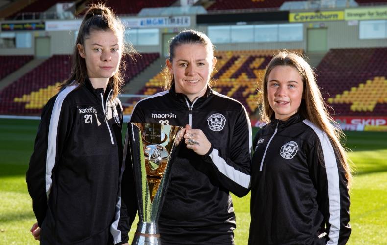 Women prepare for Scottish Cup final