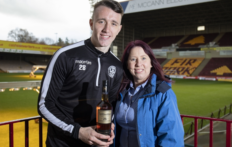 David Turnbull wins player of the month