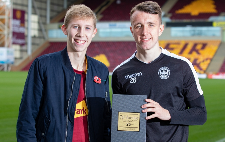 David Turnbull is Tullibardine player of the month
