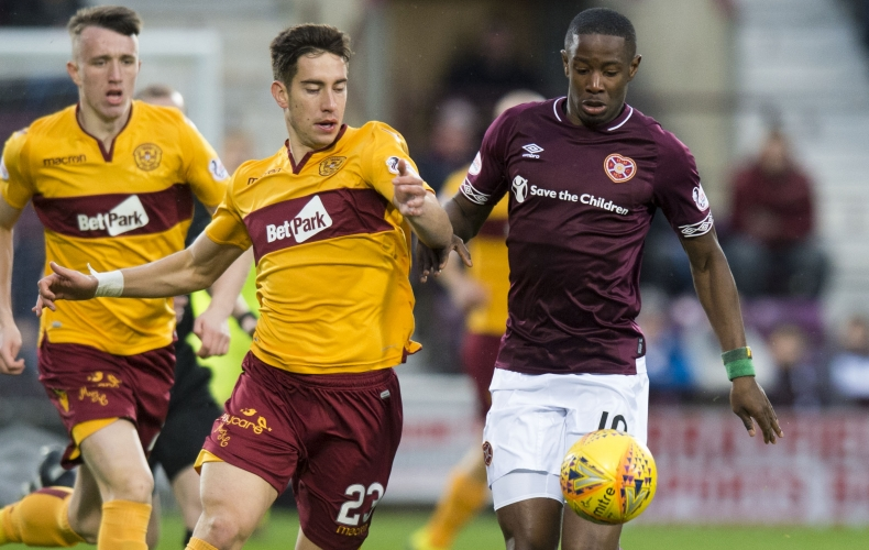 Hearts 1 – 0 Motherwell