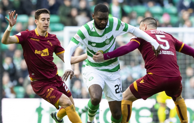 Celtic defeat a dogged Motherwell