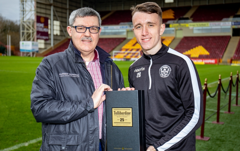 e76fc88b David Turnbull is January player of the month | Motherwell Football Club