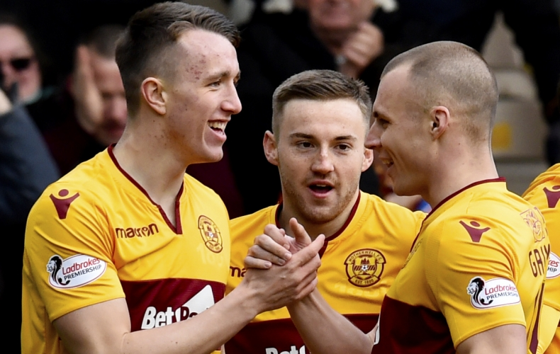 Motherwell claim big derby win