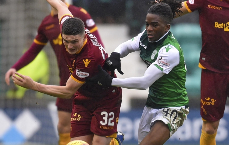 Motherwell lose out at Hibernian
