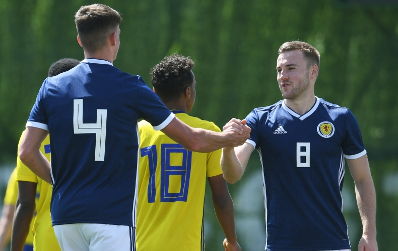 Maguire on target for Scotland Under 21s