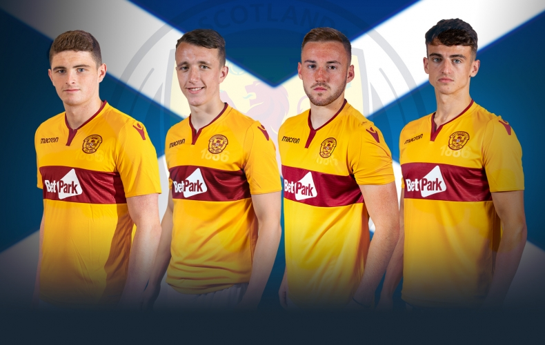 Four 'Well stars in Scotland Under 21 squad