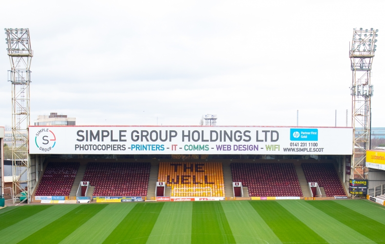 Simple Group partner with Motherwell FC