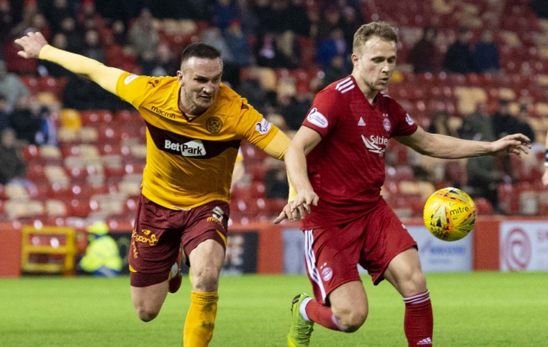Highlights as Motherwell lose at Aberdeen