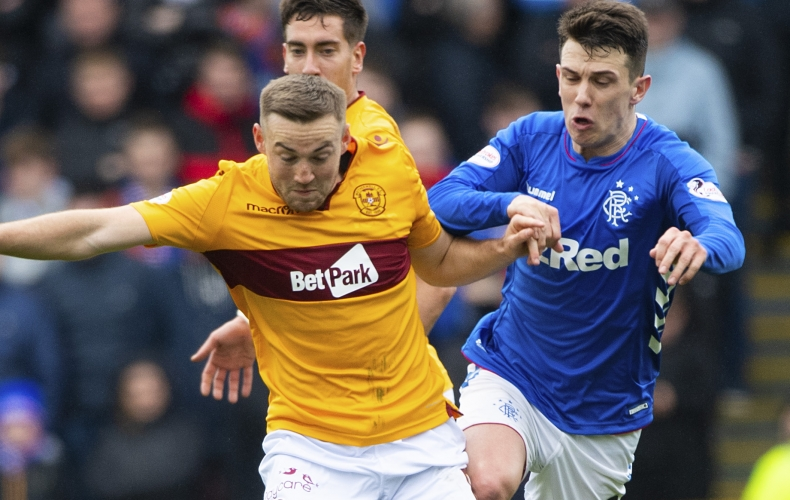 Motherwell lose out to Rangers