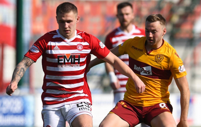 Motherwell share derby spoils