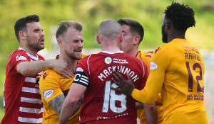 Highlights as Motherwell draw at Hamilton