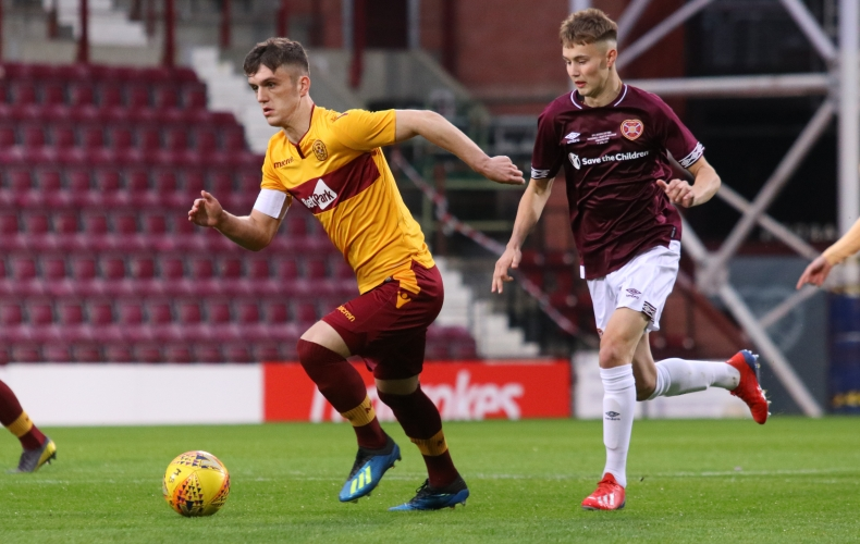 Reserves lose cup final to Hearts