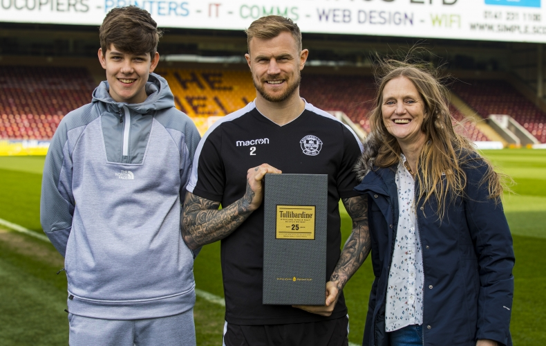 Richard Tait is Tullibardine player of the month