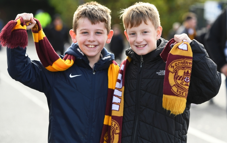Free kids tickets for Motherwell v Livingston