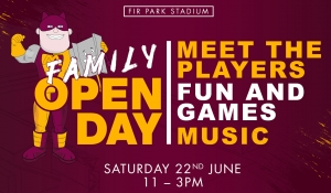 Save the date for our summer open day