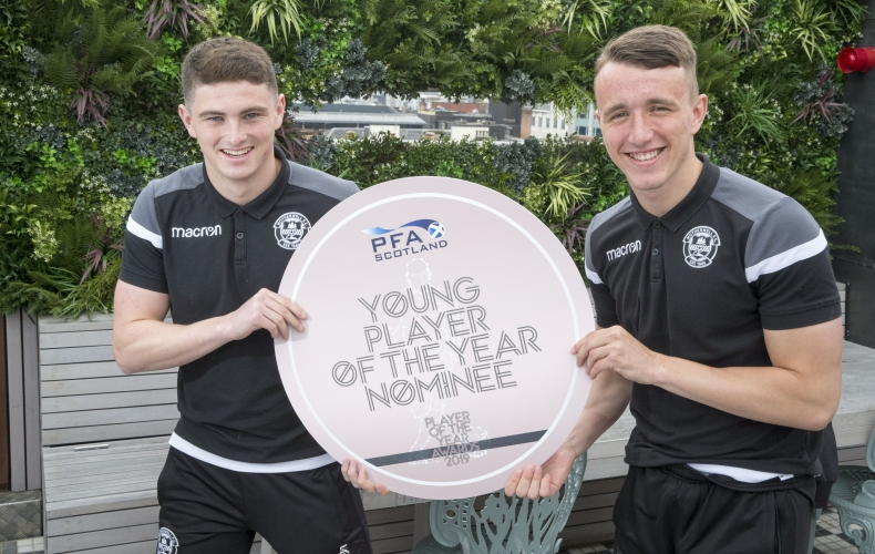 Two nominated for PFA Young Player of the Year