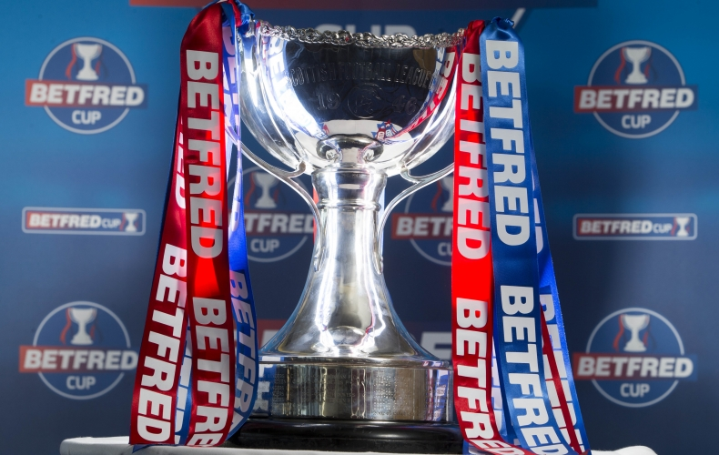 Betfred Cup opponents confirmed