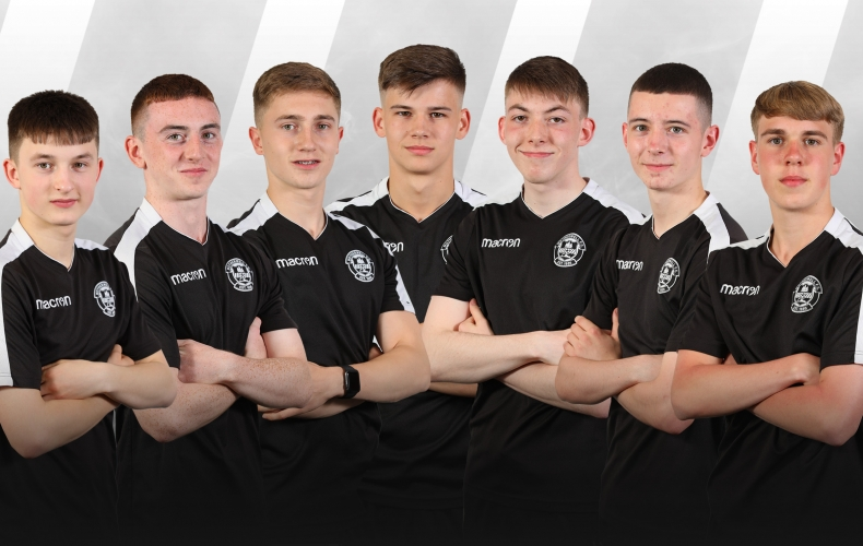 Seven new academy graduates sign on