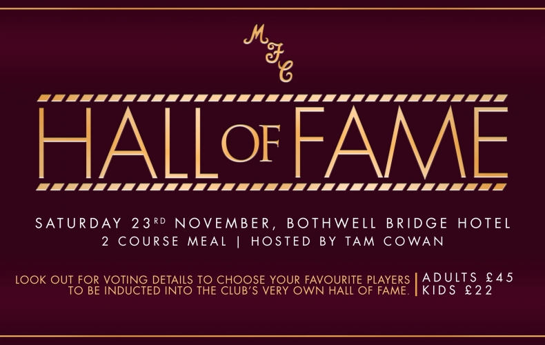 Launching the Motherwell FC Hall of Fame