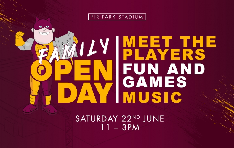 Meet the players at our family open day