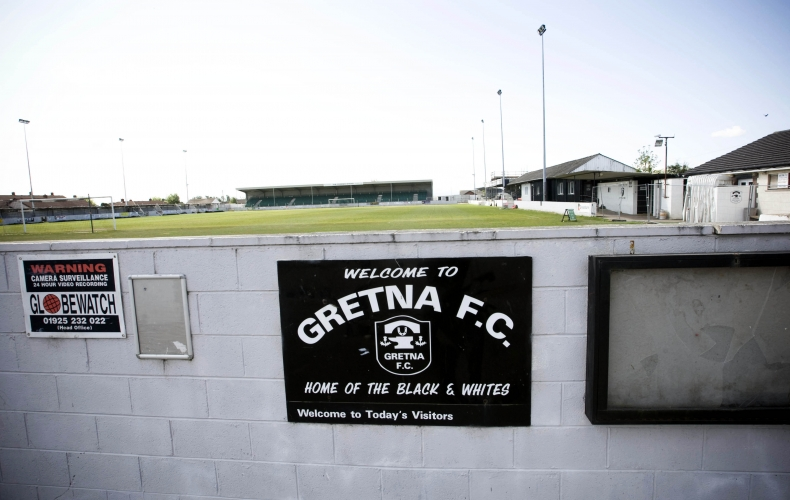 Motherwell to play Gretna friendly