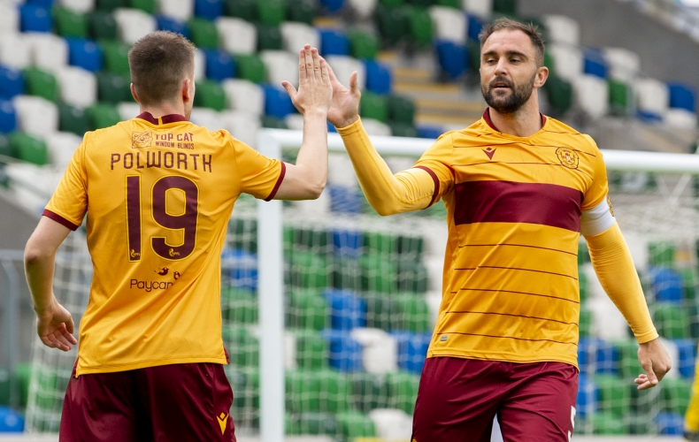 Queen of the South first for Motherwell