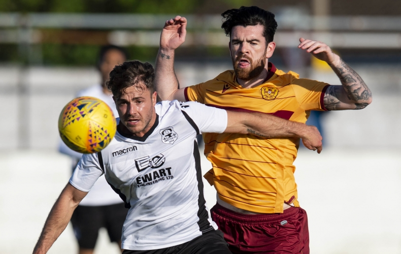Motherwell hit seven at Gretna