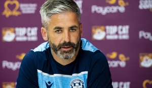 Keith Lasley looks ahead to Dumbarton