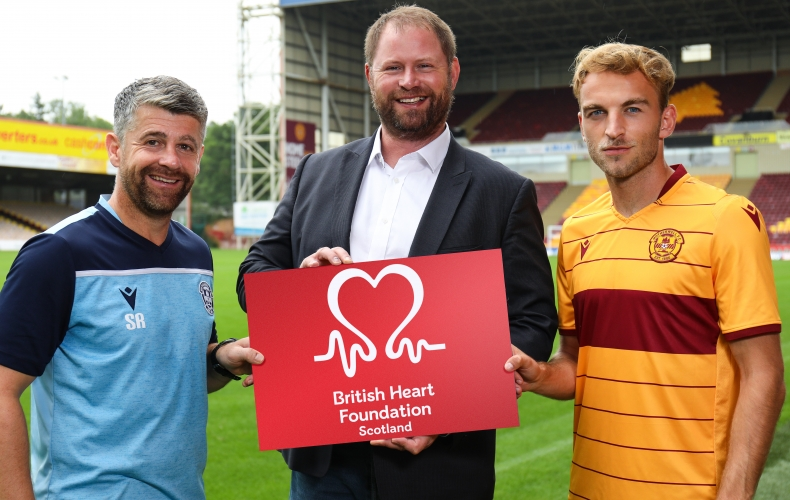 Motherwell partner with British Heart Foundation